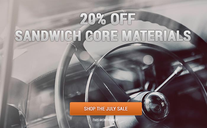Save 20% on all Sandwich Core Products!