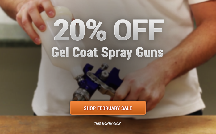All gel guns are 20% Off!