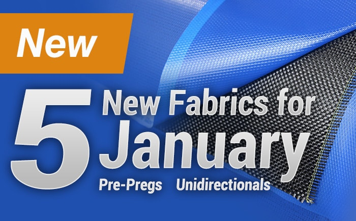 5 New Fabrics for January