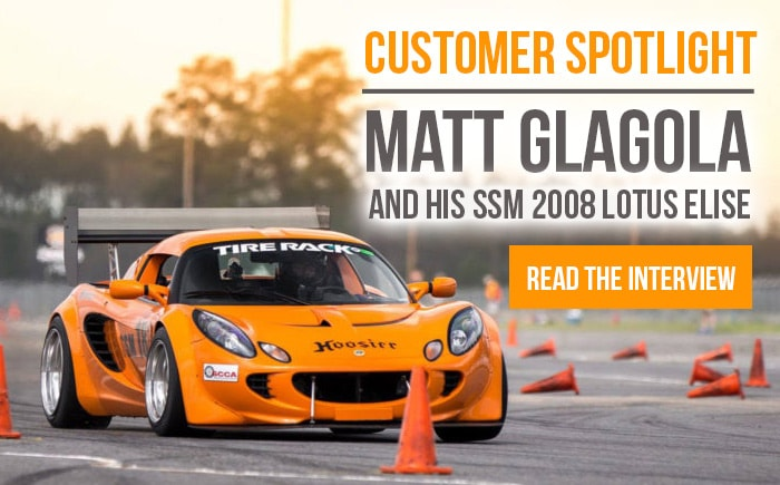 Customer Spotlight - Matt Glagola and His SSM Lotus Elise