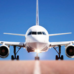 Gli arrivi dei voli a Malpansa