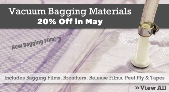20% Vacuum Bagging Materials