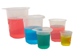 Beakers & Pour Style Cups - Discontinued