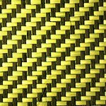 KEVLAR® / Carbon Hybrid (Yellow)
