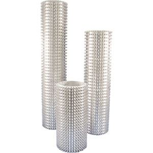 Aluminum Bubble Buster Roller Sleeves