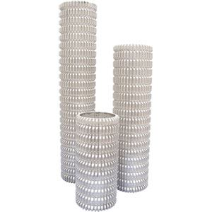 Aluminum Slotted Paddle Roller Sleeves