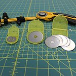 Replacement Blades for OLFA® Rotary Cutters