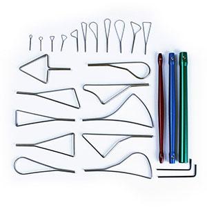 Glyptic Set Standard Clay Tools