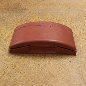 Hard Rubber Sanding Block