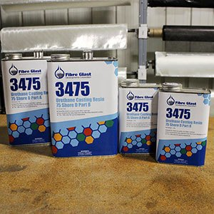 Urethane Casting Resin, 75 Shore D - Clearance