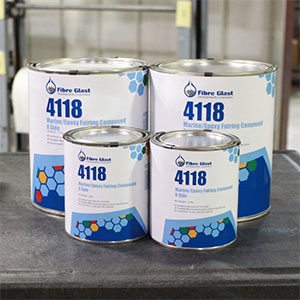 Marine Epoxy Fairing Compound