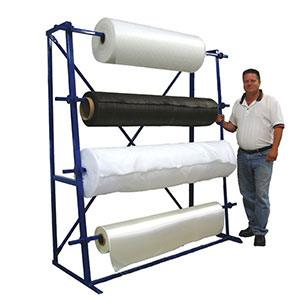 Four Roll Fabric Rack