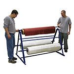 Three Roll Fabric Rack